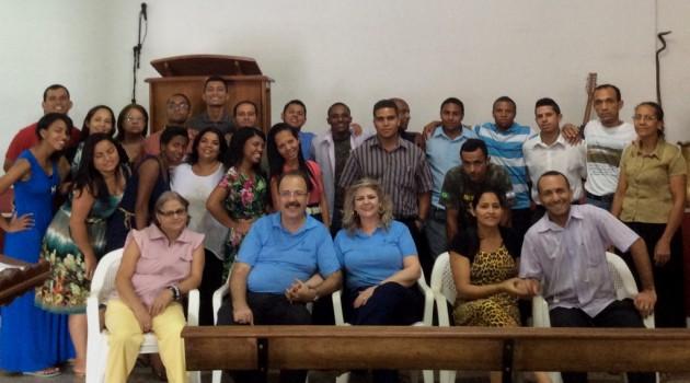 Curso CEI no dia 19 de outubro na Igreja Pentecostal os Sete Candeeiros de Deus em Ribeirão das Neves/MG