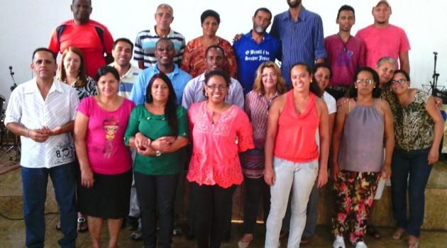 Curso CEI no dia 25 de outubro de 2014 na  Igreja de Deus do Brasil em Santa Luzia/MG