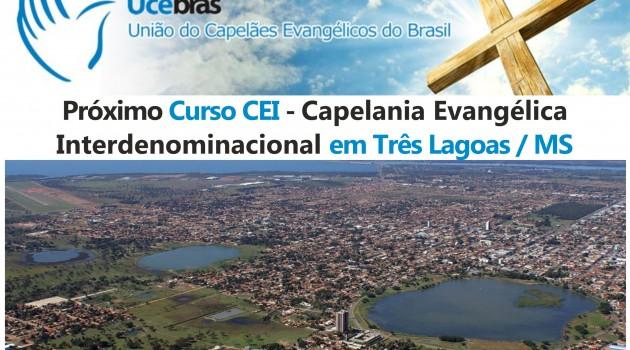 Ainda dá tempo! Curso CEI em Três Lagoas / Mato Grosso do Sul