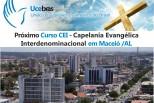 Curso CEI no dia 29 de novembro, na Igreja Assembleia de Deus em Maceió/AL