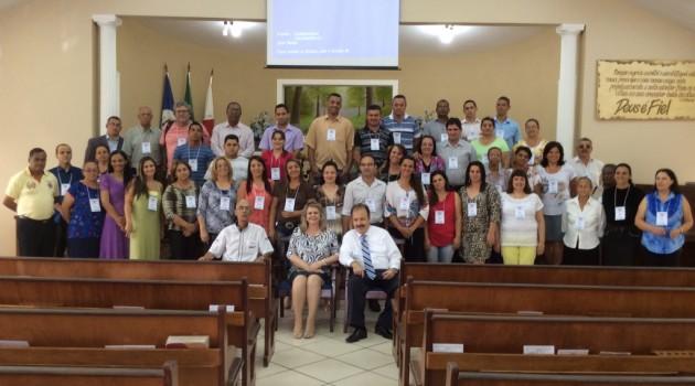 Curso CEI no dia 08 de novembro na Igreja Batista Bíblica em Pouso Alegre/MG