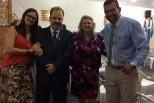 Ministração da Palavra de Deus na Igreja Missões Brasa Viva, em Três Lagoas, Mato Grosso do Sul.