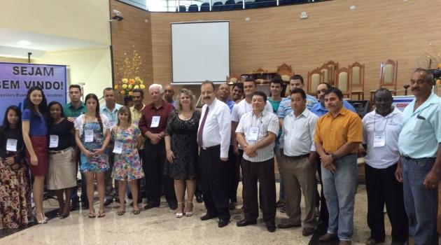 Curso CEI no dia 15 de novembro na Igreja Assembleia de Deus de Mantenópolis/ES