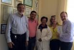Reunião nos hospitais Santa Casa e de Emergência em Anápolis/GO