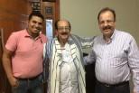 Visita ao presidente do Conselho de Pastores de Anápolis/GO