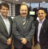 """Nosso Presidente no Programa: """"Cortando"""" da TV Mar NET 25 em Maceió / AL"""