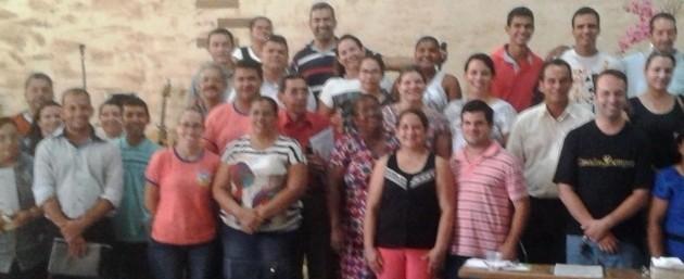 Curso CEI no dia 03 de abril na Igreja Missões Brasa Viva na cidade de Três Lagoas / MS