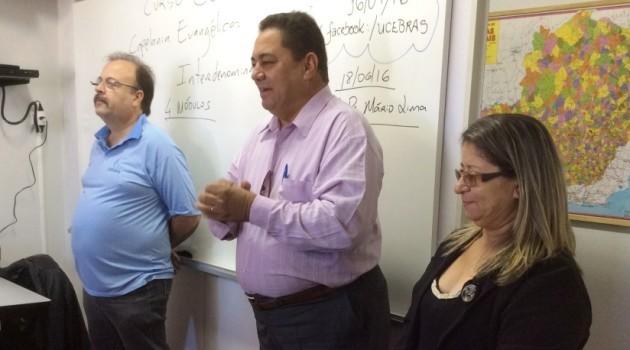 Visita dos diretores da Ucebras no estado de Goiás em nossa Sede
