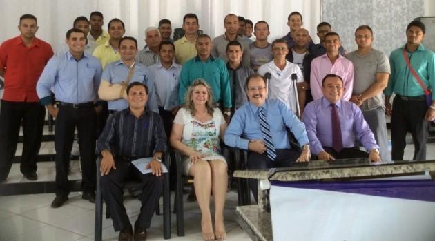 Curso CEI no dia 13 de agosto na Igreja Assembleia de Deus Ministério Missão Campo Novo Carajás em Parauapebas/PA