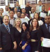 Formatura de mais uma Turma do Curso CEI, na Igreja Assembleia de Deus – Lagoinha na cidade de Ribeirão das Neves / MG