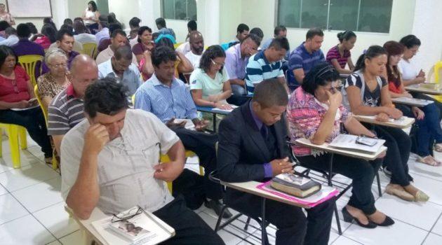 Curso CEI no dia 18 de março na Igreja Batista Nacional El Shaday em Caetanópolis / MG