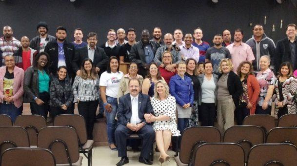 Curso CEI no dia 19 de agosto na Comunidade Evangélica Projeto Vida em Volta Redonda/RJ