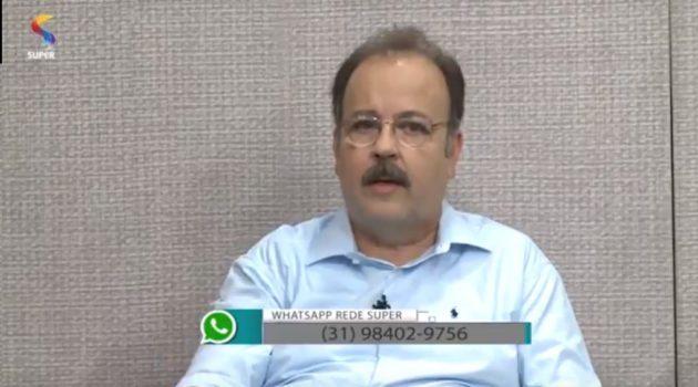 Nosso presidente no Programa: Bate Papo no dia 10 de janeiro, transmitido pela TV Rede Super